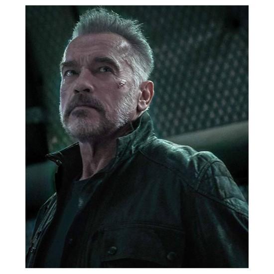 Dark Fate Terminator Leather Jacket