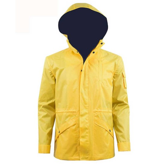 Dark Jonas Kahnwald Yellow Hooded Jacket