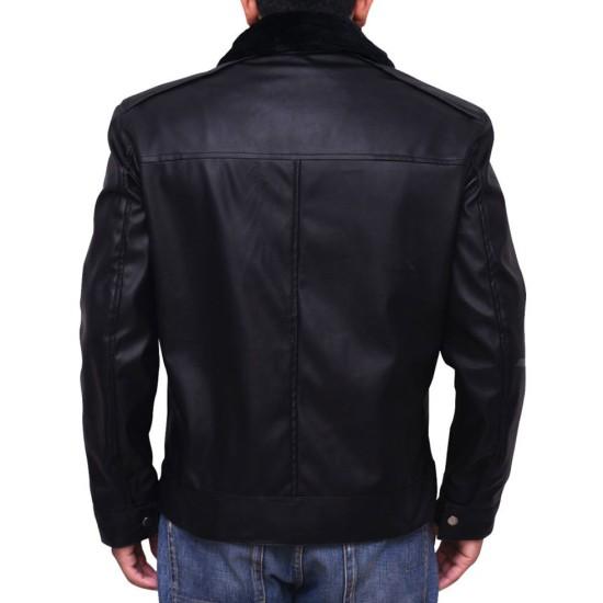 Dark Matter TV Series Derrick Moss Leather Jacket
