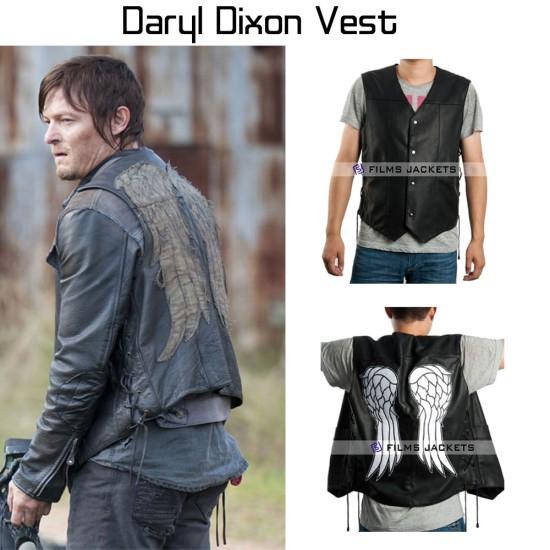 Daryl Dixon The Walking Dead Angel Wings Vest