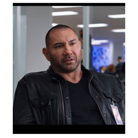 Dave Bautista My Spy Leather Jacket