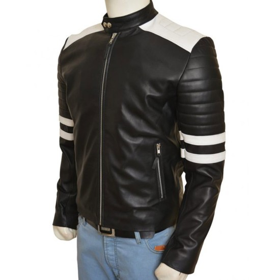 Ian Nerve Leather Jacket