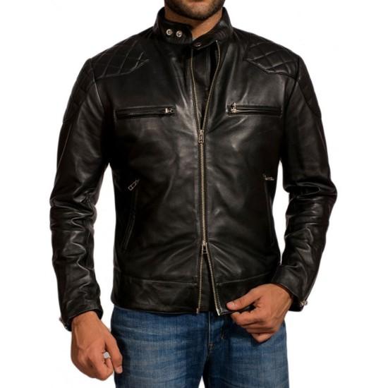 David Beckham Motorcycle Jacket