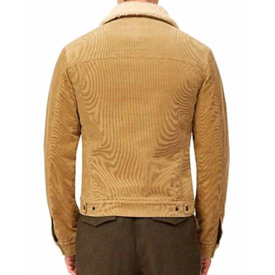 David Beckham Shearling Corduroy Jacket