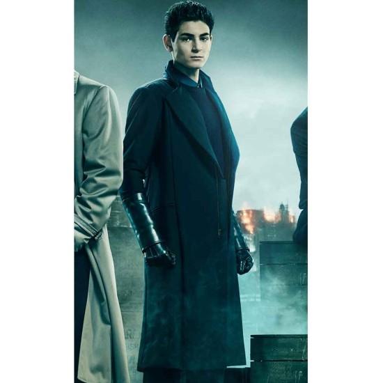 David Mazouz Gotham Season 5 Coat