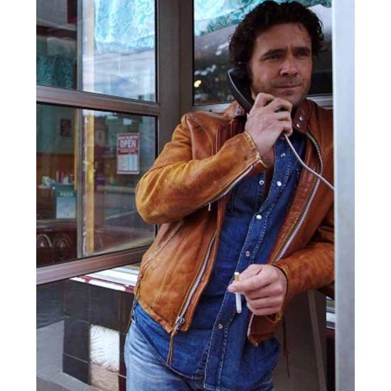Caught Allan Hawco Leather Jacket