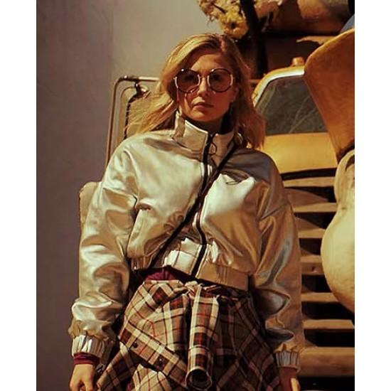 Daybreak Sophie Simnett Bomber Style Jacket