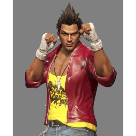 Diego Dead Or Alive 6 Leather Jacket
