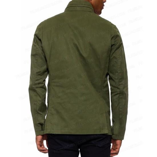 Frank West Dead Rising 4 Green Jacket