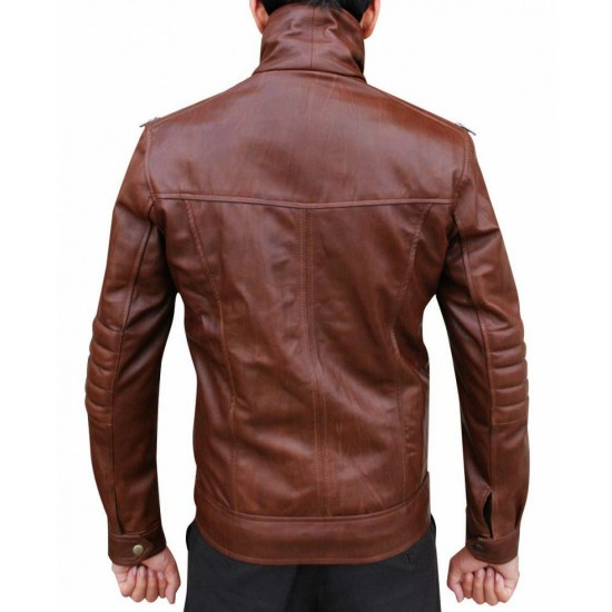 Chase Carter Dead Rising Watchtower Leather Jacket
