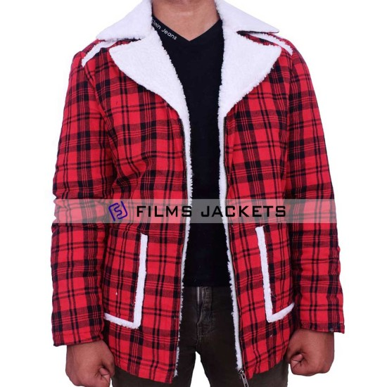 Deadpool Vanessa and Wade Wilson Shearling Jacket