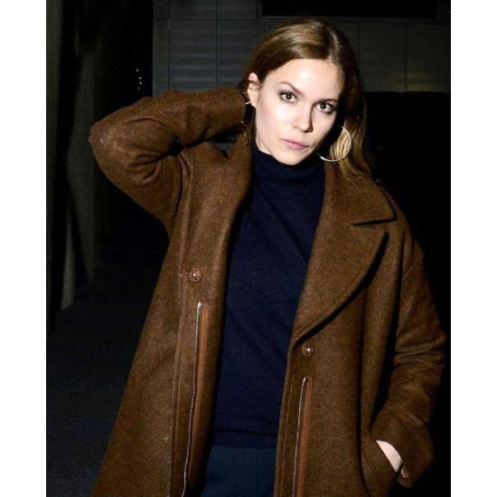 Deadwind Pihla Viitala Wool Brown Coat