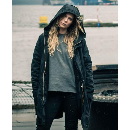 Deadwind Pihla Viitala Black Coat with Hood