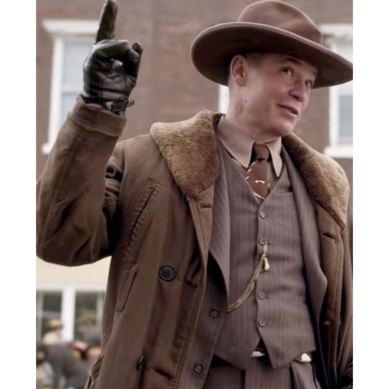 Fargo S04 Deafy Double Breasted Coat
