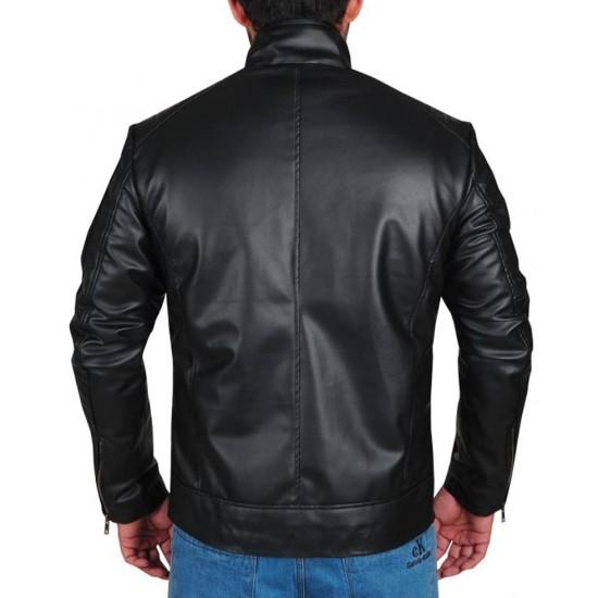 Dean Ambrose Striped Leather Jacket