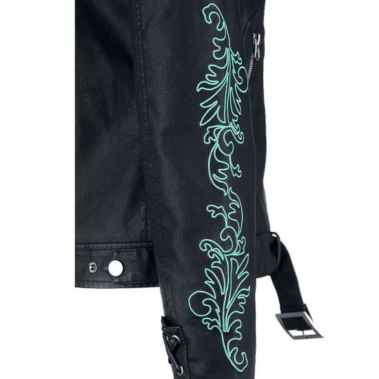 Death Eater Belted Leather Jacket