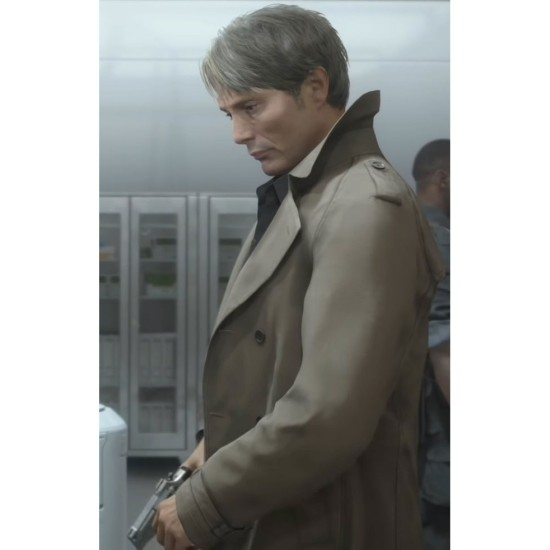 Clifford Unger Death Stranding Double Breasted Coat