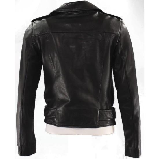Death Wish Jordan Kersey Leather Jacket