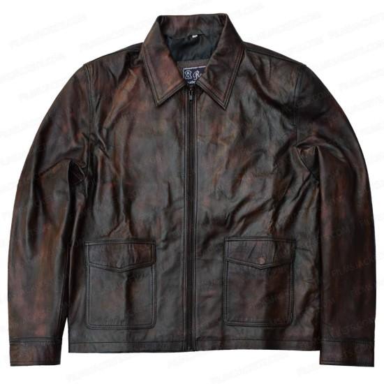 Gerard Butler Den of Thieves Leather Jacket
