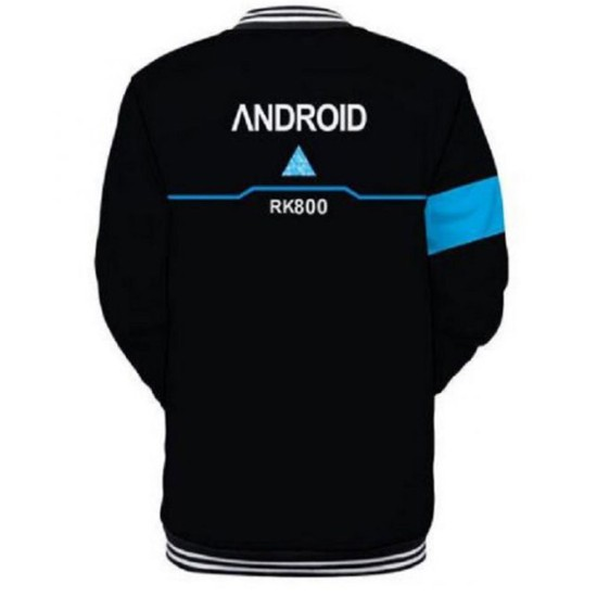 Detroit Become Human RK 800 Varsity Jacket