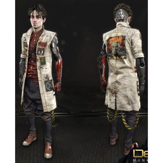 Deus Ex Mankind Divided Koller Leather Coat