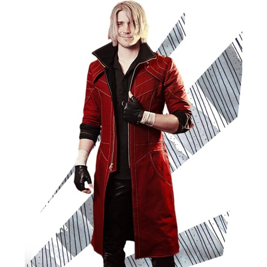 Devil May Cry 5 Nero Red Sparda Jacket