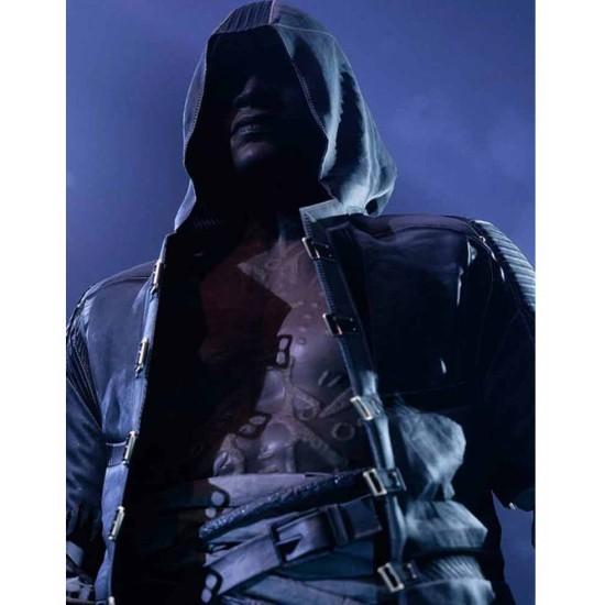 Devil's Hunt Game Trench Leather Coat