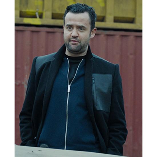 Code 404 Daniel Mays Black Coat