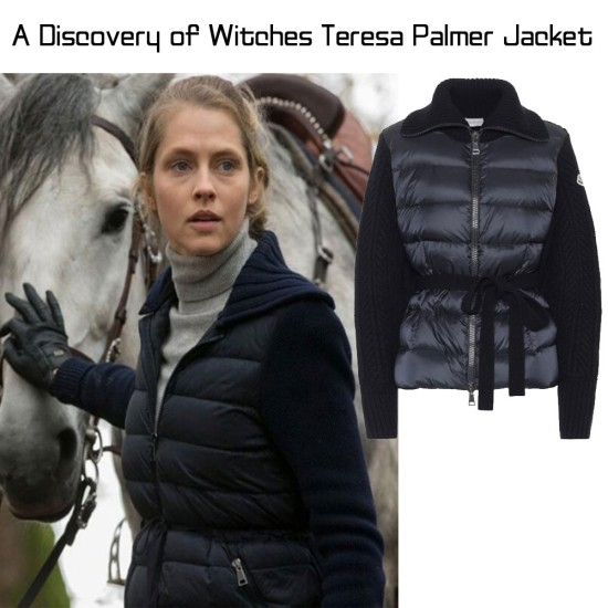 A Discovery of Witches Teresa Palmer Blue Jacket