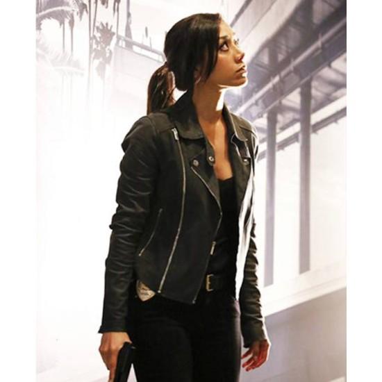 Didi Diaz Rush Hour Black Leather Jacket