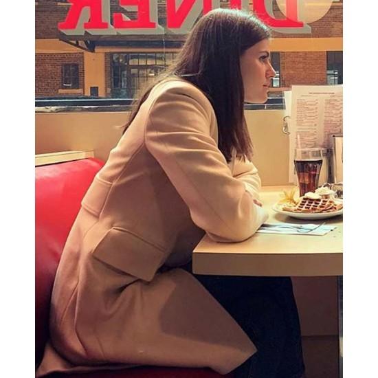 Alexandra Daddario Die in a Gunfight Coat