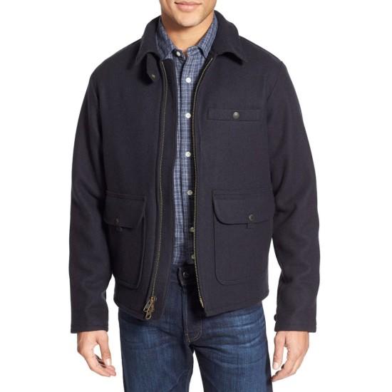 Daniel Craig Spectre Blue Wool Jacket