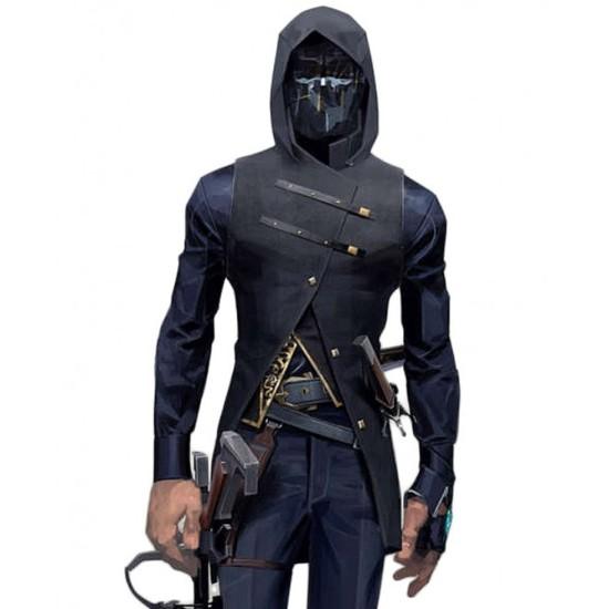 Dishonored 2 Game Corvo Attano Hooded Vest