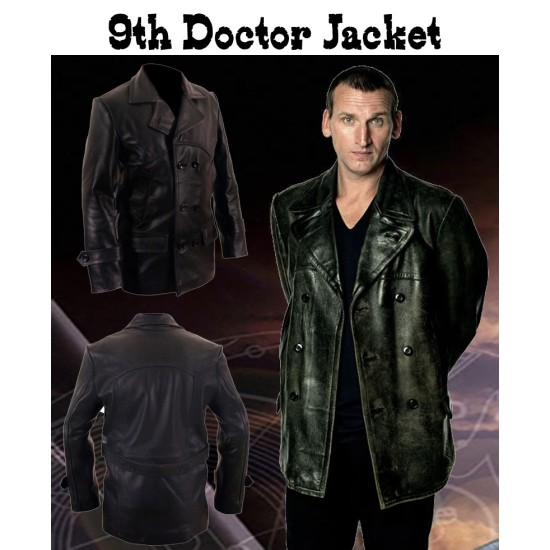 Doctor Who Ninth Doctor Who Leather Jacket