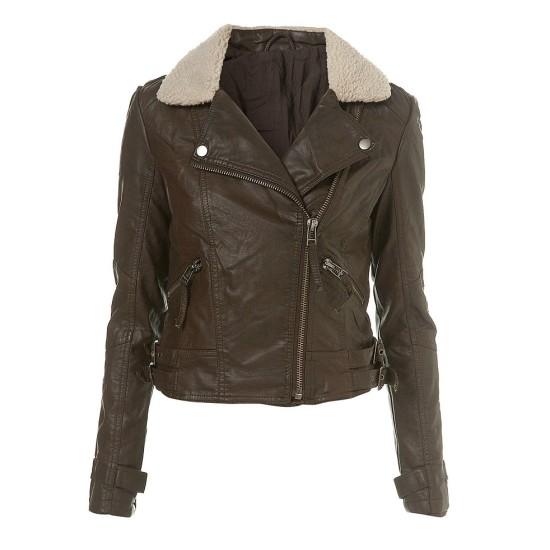 Karen Gillan Doctor Who Amy Pond Fur Jacket