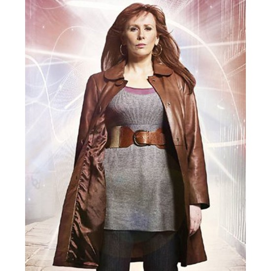 Doctor Who Donna Noble Leather Jacket