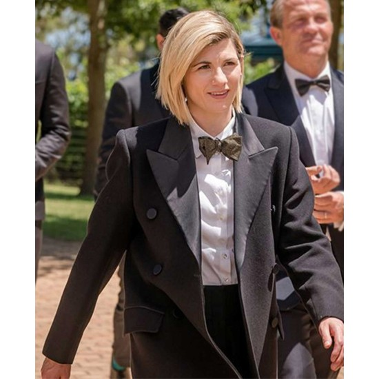 Doctor Who Jodie Whittaker Double Breasted Coat