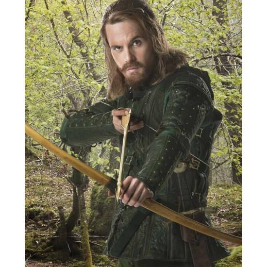Doctor Who Robin Hood Leather Jacket