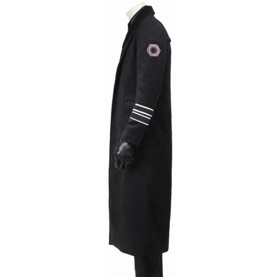 Star Wars Last Jedi General Hux Trench Coat