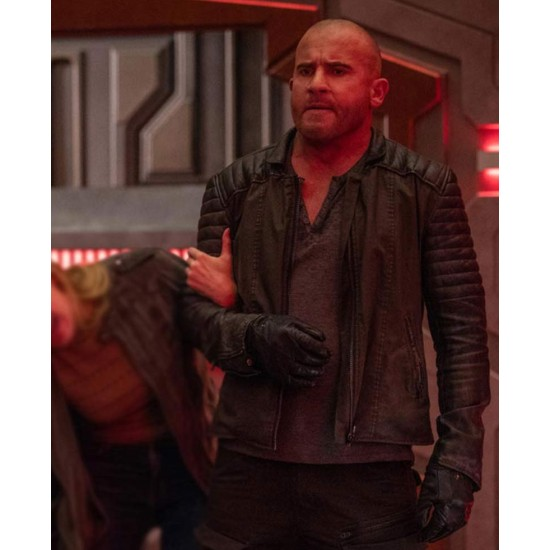 Dominic Purcell Legend of Tomorrow Padded Sleeves Jacket