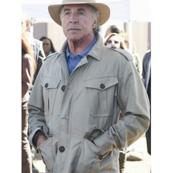 Don Johnson Blood and Oil Cotton Jacket