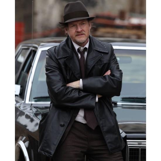 Donal Logue Gotham Leather Jacket