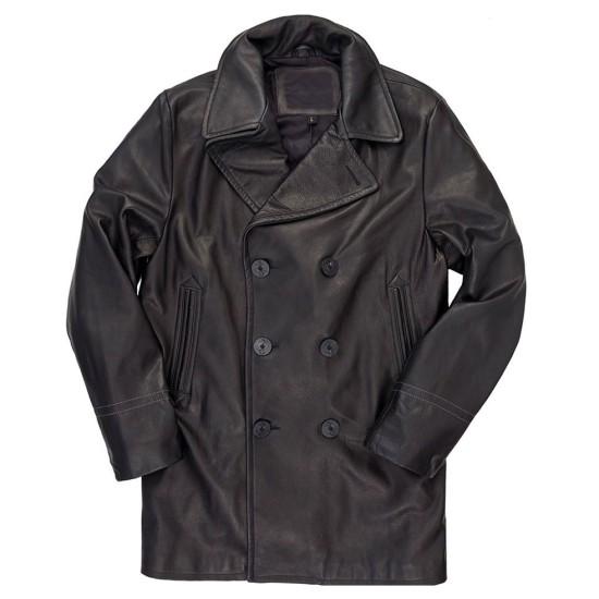 Gangs of London Sope Dirisu Black Leather Coat