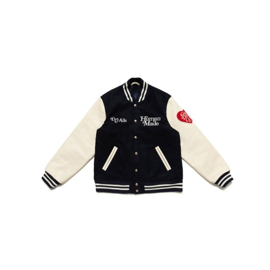 Dry Alls Girls Don't Cry Letterman Jacket