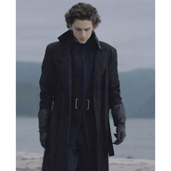 Dune Timothee Chalamet Black Coat