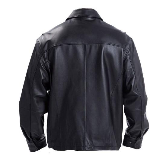 Driver Faster Movie Dwayne Johnson Leather Jacket