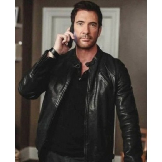 Duncan Carlisle Hostages Dylan Mcdermott Leather Jacket