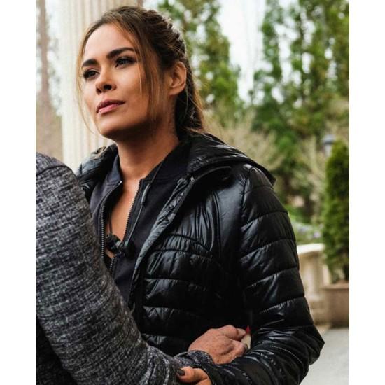 Dynasty Daniella Alonso Black Puffer Jacket