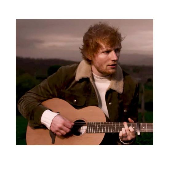 Afterglow Ed Sheeran Suede Jacket