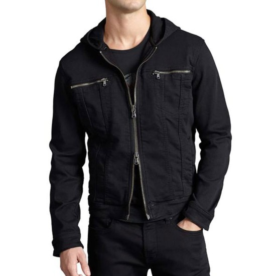 Edgar Ramirez Yes Day Denim Jacket